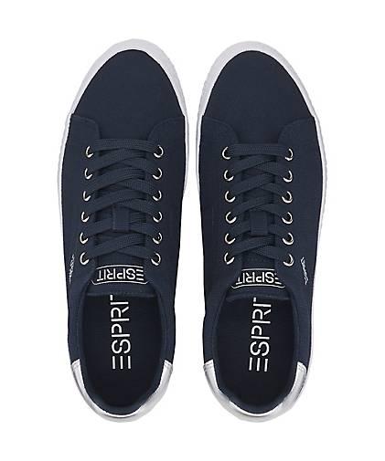 Sneaker Netta Damen Lace dunkel Blau Up wP6qp4