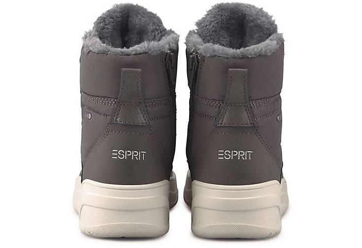 Esprit Winter Boots GUSSIE F in grau dunkel kaufen