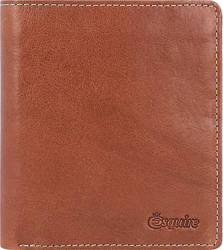 Esquire Denver Geldbörse RFID Leder 10,5 cm