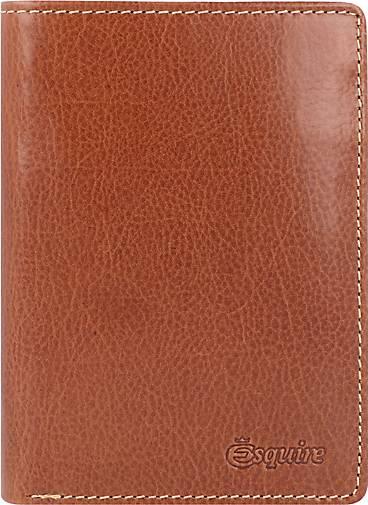 Esquire Denver Geldbörse RFID Leder 9 cm