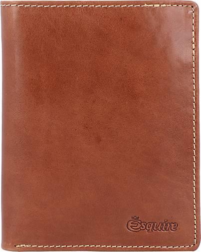 Esquire Denver Geldbörse RFID Leder 9,5 cm