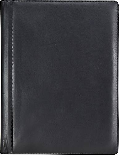 Esquire Eco Schreibmappe Leder 24 cm