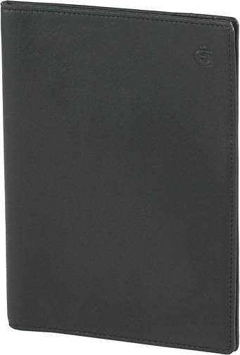 Esquire Logo Ausweisetui Leder 12 cm