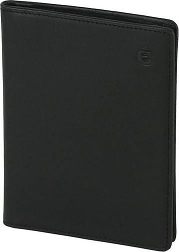 Esquire Logo Ausweisetui Leder 9 cm