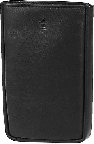 Esquire Logo Schlüsseletui Leder 8 cm