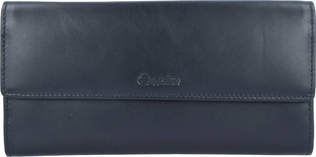 Esquire New Line Geldbörse RFID Leder 18 cm