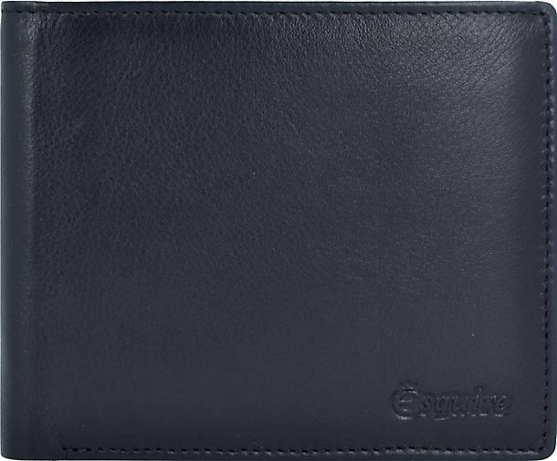 Esquire New Line Kartenetui RFID Leder 11cm