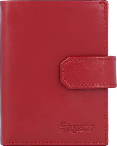 Esquire New Silk Geldbörse Leder 7,5 cm