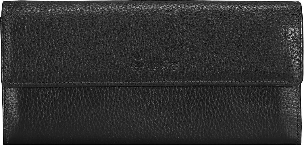 Esquire Primavera Geldbörse I Leder 18 cm