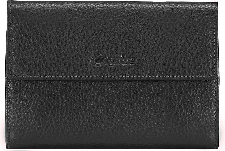 Esquire Primavera Geldbörse Leder 14 cm