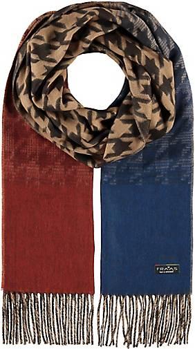 FRAAS Cashmink®-Schal mit Hahnentritt - Made in Germany