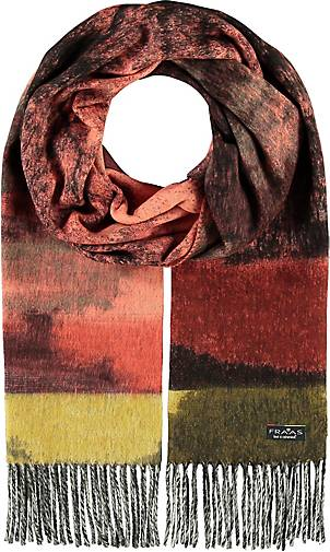 FRAAS Cashmink®-Schal mit floralem Muster - Made in Germany