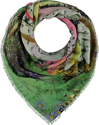 FRAAS Sustainability Edition - Florales Tuch aus recyceltem Polyester