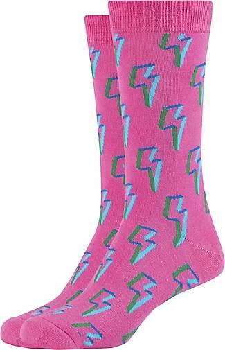 FUN Socks 2er Pack Socken mit trendigem Blitz-Muster