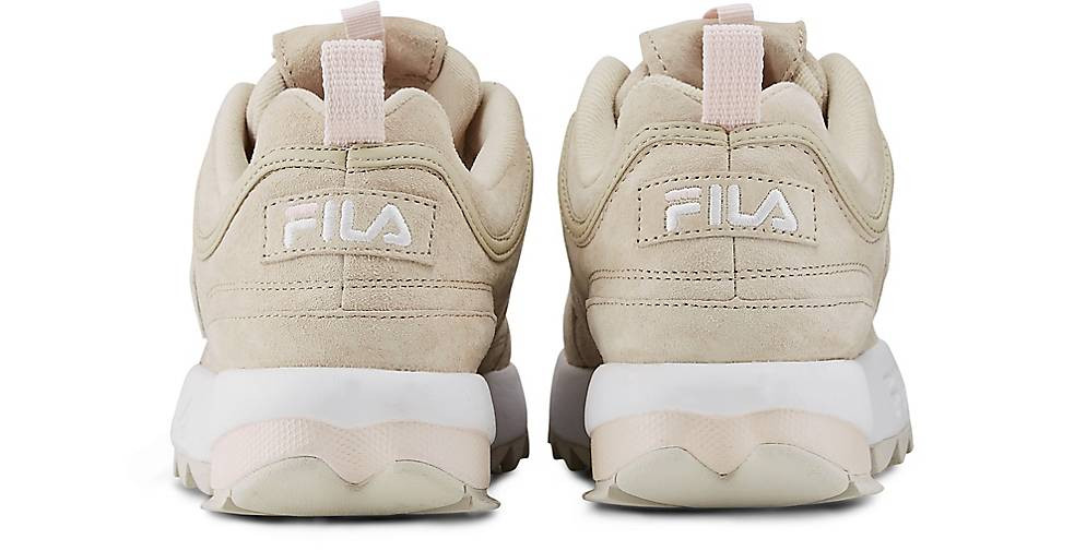 Fila DISRUPTOR S LOW LOW LOW WMN in beige kaufen - 48077001 GÖRTZ Gute Qualität beliebte Schuhe 74c8f4