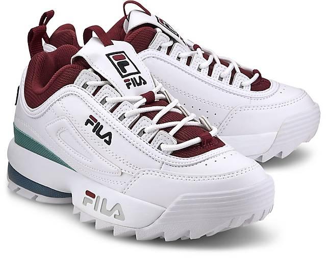 Promotions Fila Sneaker Schuhe Damen Fila Disruptor x