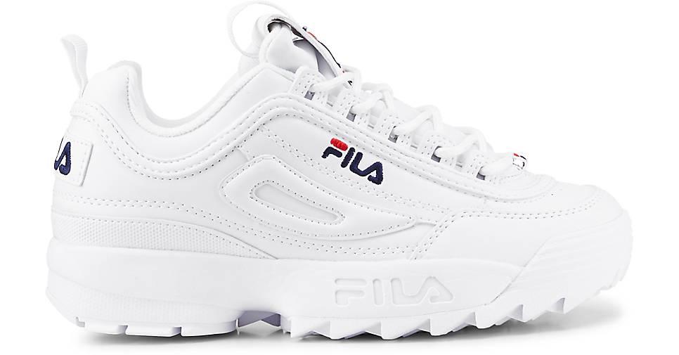 Fila Turnschuhe DISRUPTOR LOW in weiß kaufen - beliebte 48021001 GÖRTZ Gute Qualität beliebte - Schuhe 1418a1