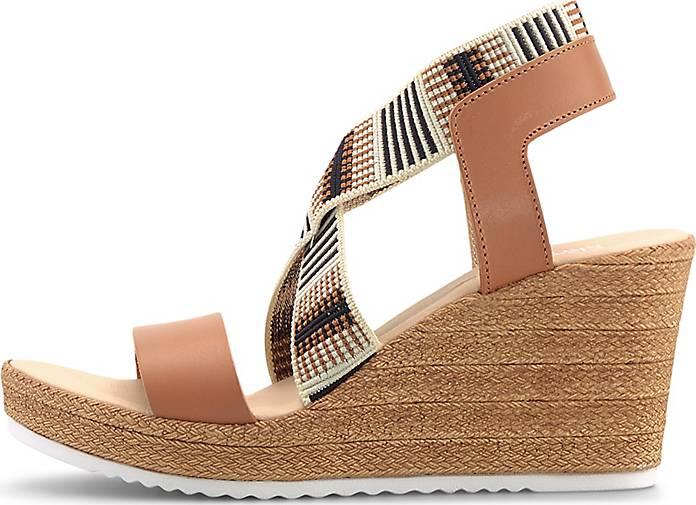 Flare & Brugg Keil-Sandalette