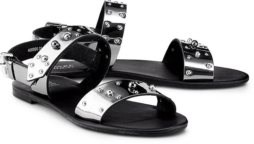 Flare & Brugg Metallic-Sandalette