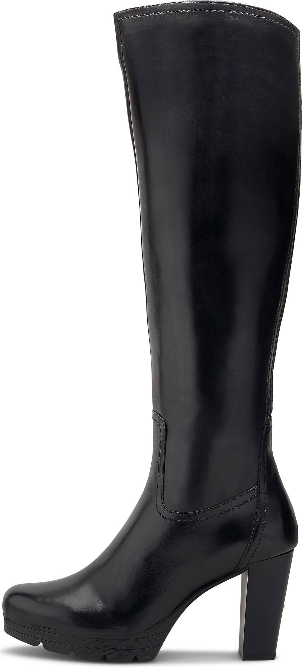 Flare & Brugg| Plateau-Stiefel in schwarz| Stiefel für Damen | Schuhe > Stiefel > Plateaustiefel | Flare & Brugg