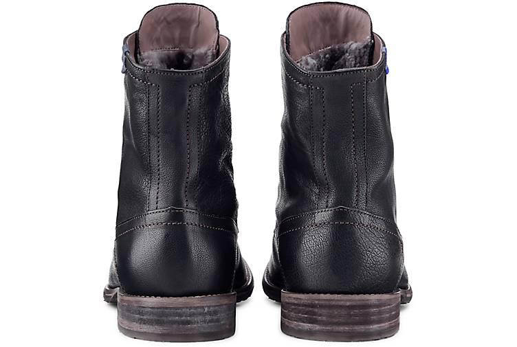 Floris schwarz van Bommel Schnür-Stiefelette in schwarz Floris kaufen - 47823101 | GÖRTZ Gute Qualität beliebte Schuhe 2a1ed6