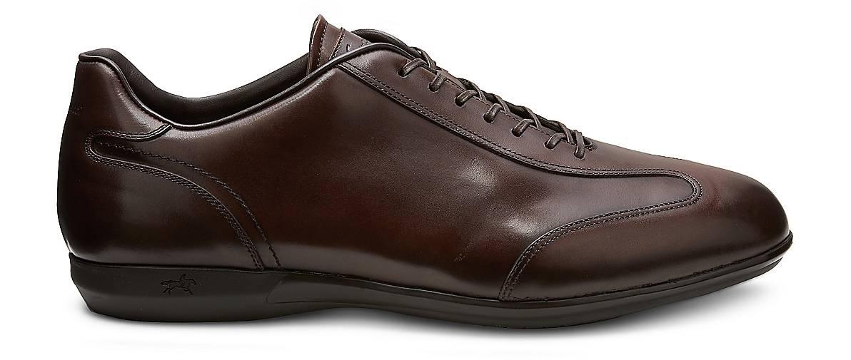 Franceschetti Leder-Schnürer 43152802 in braun-dunkel kaufen - 43152802 Leder-Schnürer | GÖRTZ Gute Qualität beliebte Schuhe b59ad1