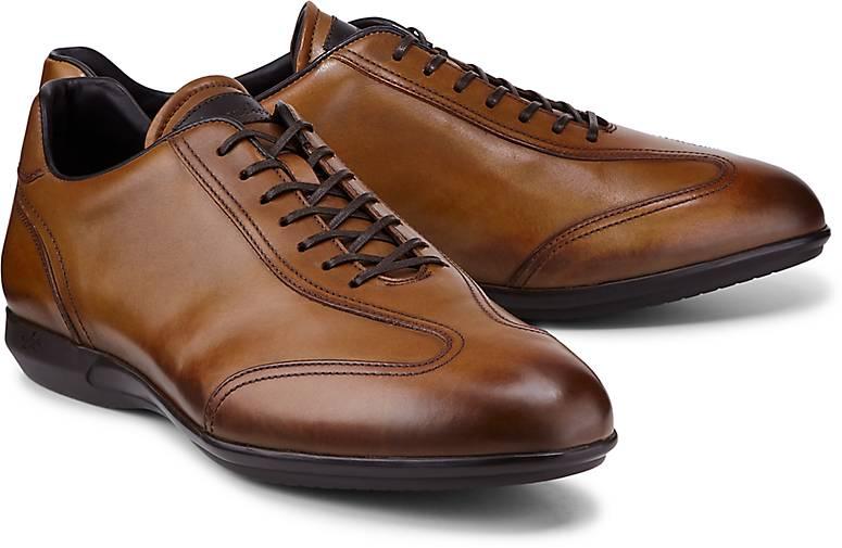 Franceschetti Leder-Schnürer in braun-mittel kaufen - 48451301 GÖRTZ Gute Qualität beliebte Schuhe