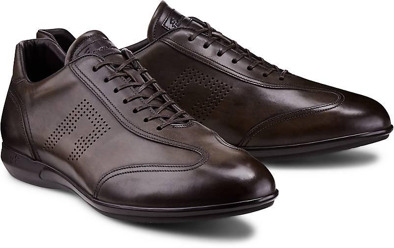 Franceschetti Leder-Schnürer in grün-dunkel GÖRTZ kaufen - 46783602 | GÖRTZ grün-dunkel Gute Qualität beliebte Schuhe a5fb1a