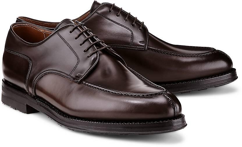 Franceschetti Schnürer CORDOVAN in braun-dunkel kaufen Gute - 47851401 | GÖRTZ Gute kaufen Qualität beliebte Schuhe bfb97a