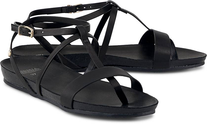 Fred de la Bretoniere Leder-Sandale