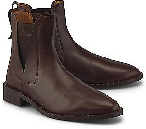 GANT, Chelsea-Boots Hampton in mittelbraun, Boots für Damen