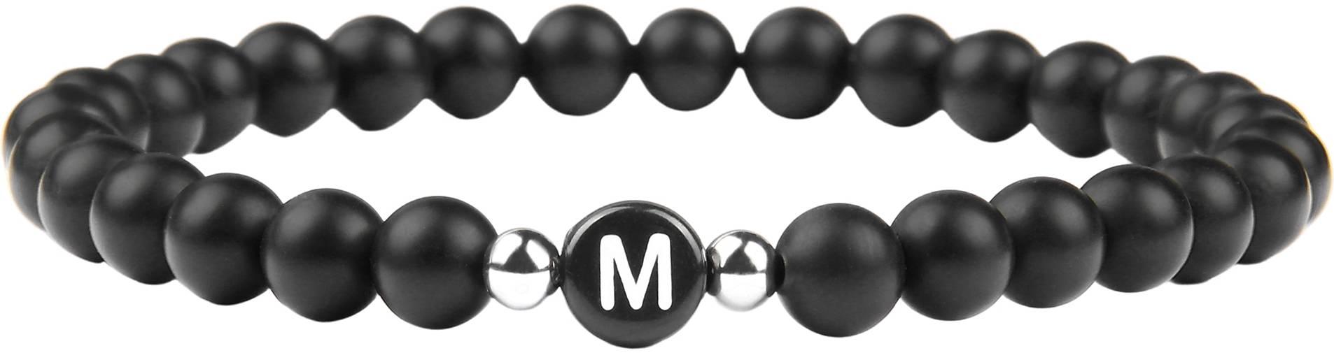 GOOD.designs Perlenarmband Buchstabenperlen M
