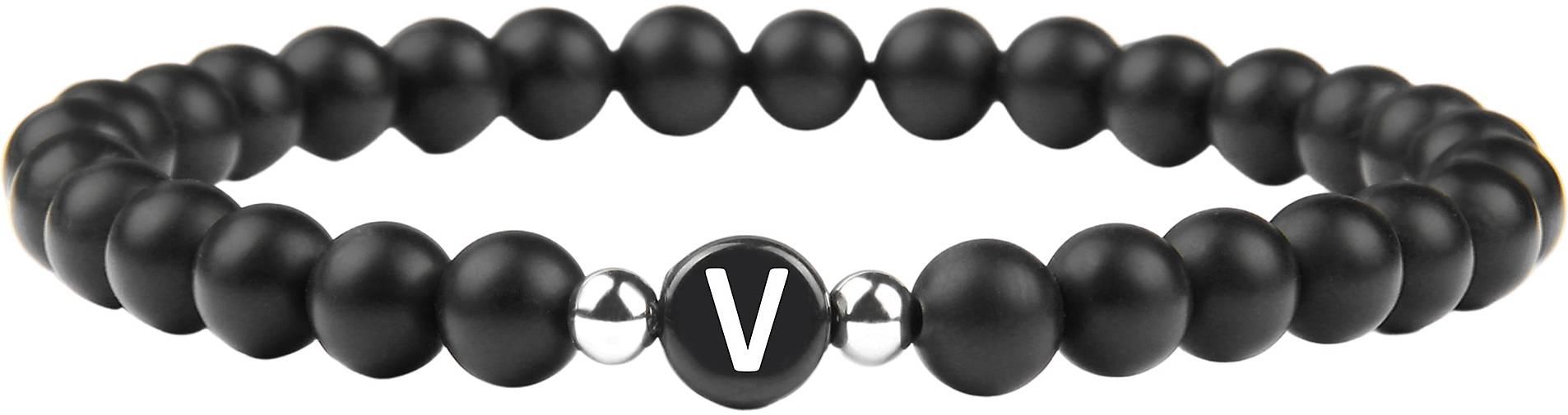 GOOD.designs Perlenarmband Buchstabenperlen V