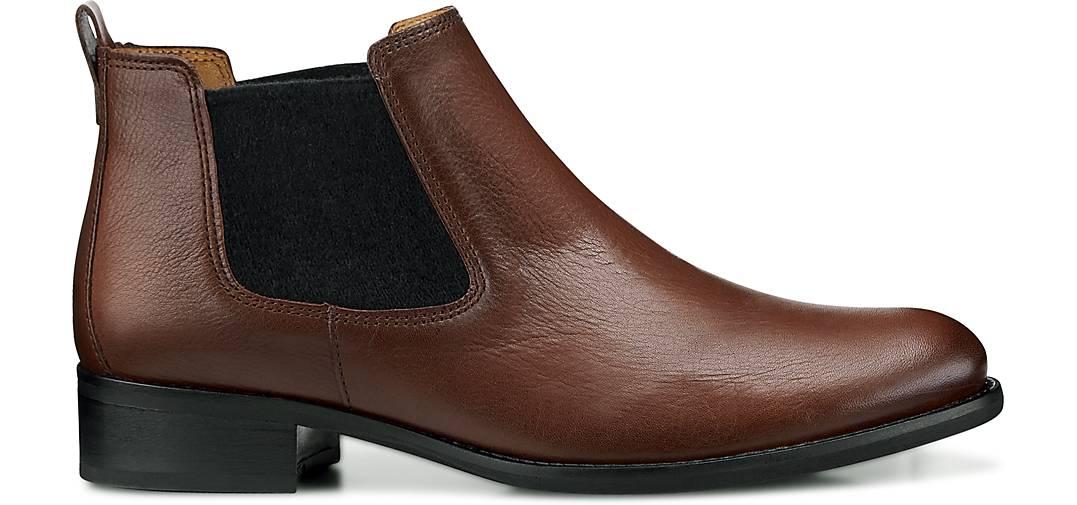 gabor chelsea boots klassische stiefeletten braun mittel g rtz. Black Bedroom Furniture Sets. Home Design Ideas