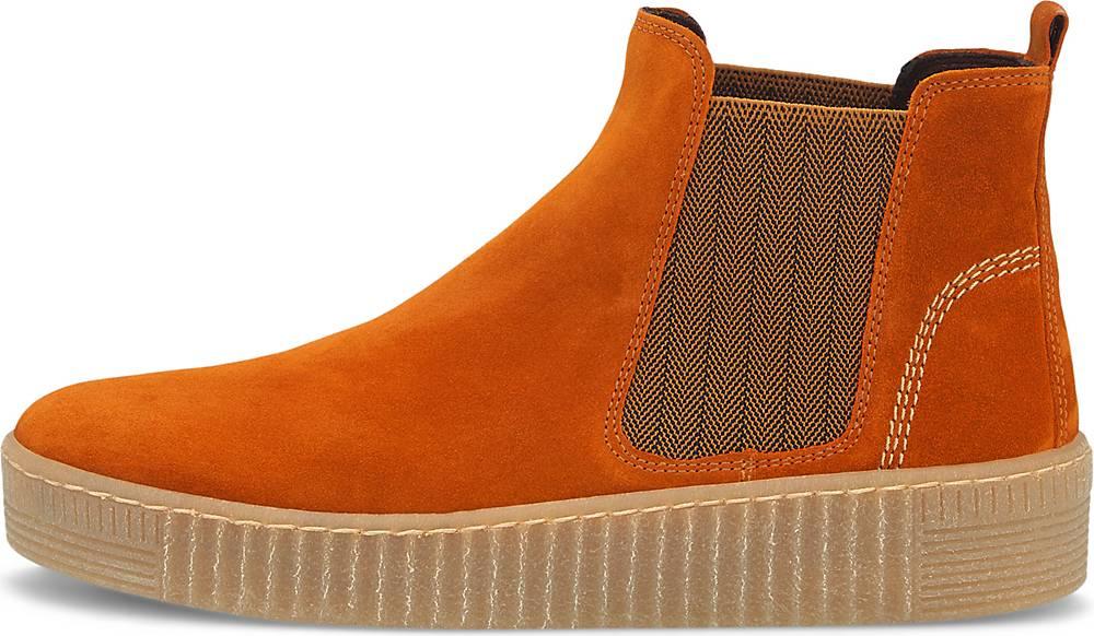 Gabor  Chelsea-Boots in orange  Boots für Damen   Schuhe > Boots > Chelsea-Boots   Gabor