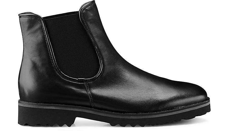 chelsea boots von gabor in schwarz f r damen g nstig. Black Bedroom Furniture Sets. Home Design Ideas