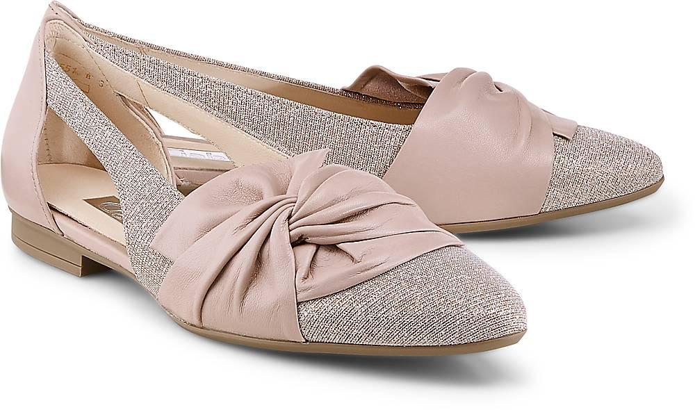 Cut-Out-Ballerina von Gabor in rosa für Damen. Gr. 37,37 1/2,38,38 1/2,40 1/2,41 Preisvergleich