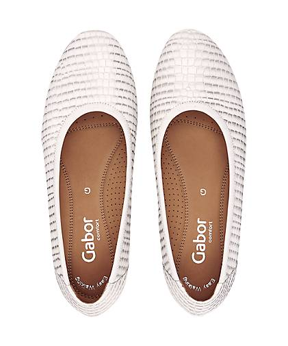 Gabor Fashion-Ballerina in beige kaufen kaufen kaufen - 47347401 | GÖRTZ Gute Qualität beliebte Schuhe 3e834b