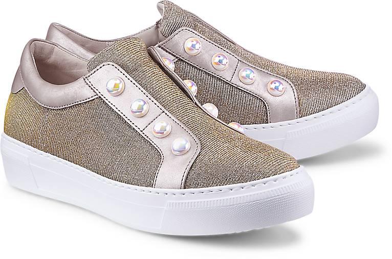 Gabor Fashion-Slip-On in gold kaufen kaufen kaufen - 47343701 | GÖRTZ Gute Qualität beliebte Schuhe b499be