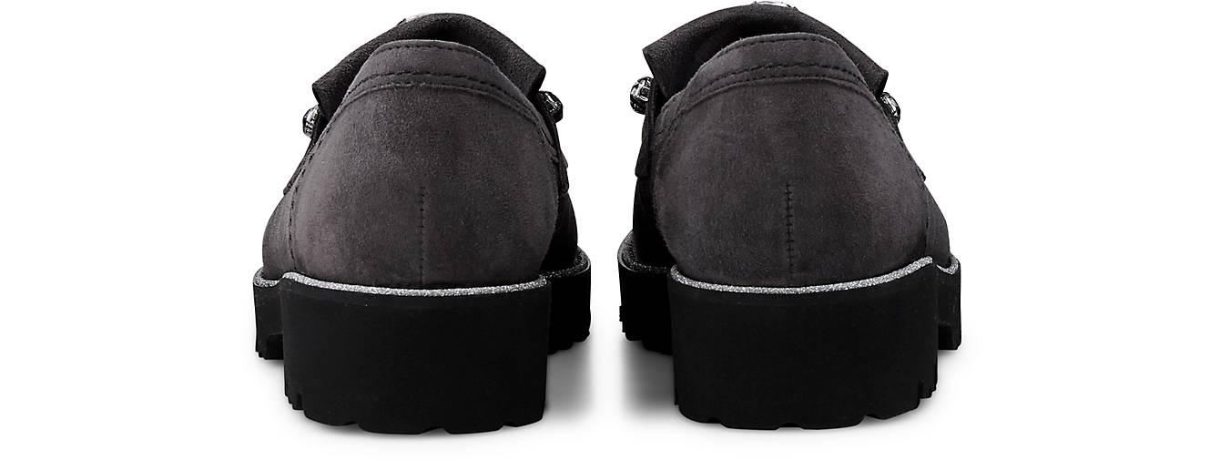 Gabor Fashion-Slipper in | grau-dunkel kaufen - 46609902 | in GÖRTZ Gute Qualität beliebte Schuhe ec5fb0