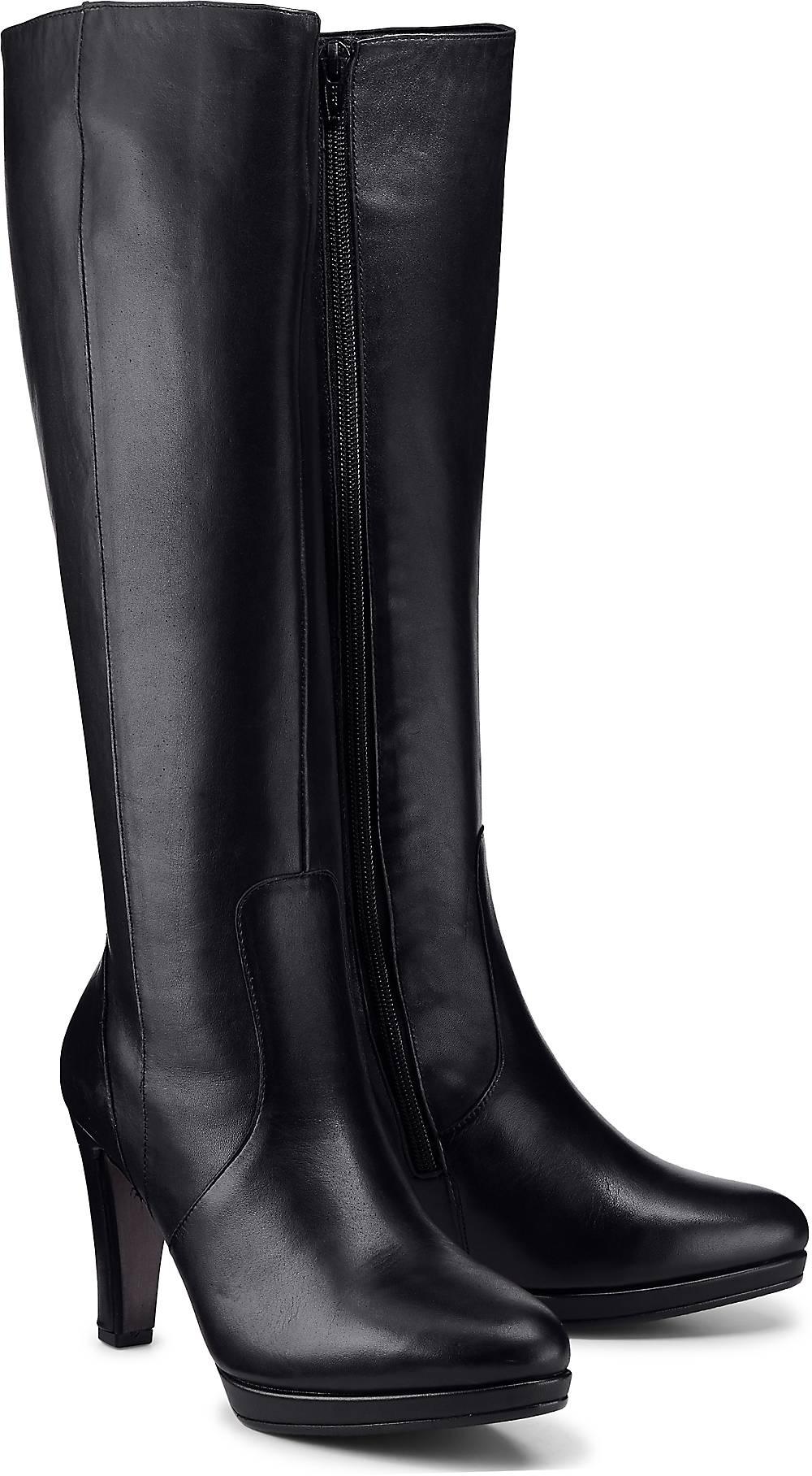 Fashion-Stiefel von Gabor in schwarz für Damen. Gr. 38 1/2 Preisvergleich