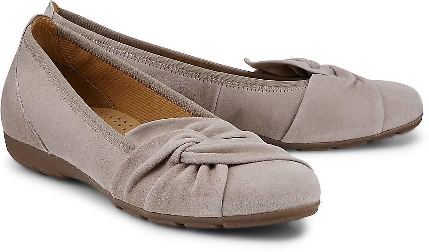 Gabor Shoes Damen Casual Geschlossene Ballerinas, Beige