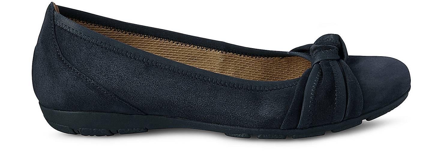 Gabor Komfort-Ballerina in blau-dunkel kaufen - 42224504 GÖRTZ GÖRTZ GÖRTZ Gute Qualität beliebte Schuhe d07b7c