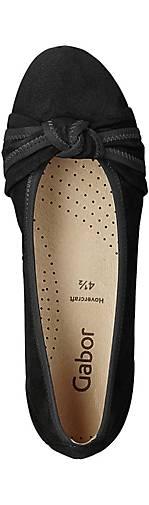 Gabor Komfort-Ballerina - in schwarz kaufen - Komfort-Ballerina 42224502 | GÖRTZ d35500