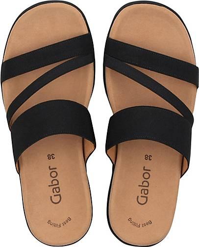 Gabor Komfort-Pantolette in 46207201 schwarz kaufen - 46207201 in | GÖRTZ d59392
