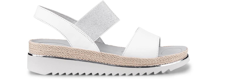 Gabor Komfort-Sandalette in weiß kaufen - - - 47161201 GÖRTZ Gute Qualität beliebte Schuhe 37aed6