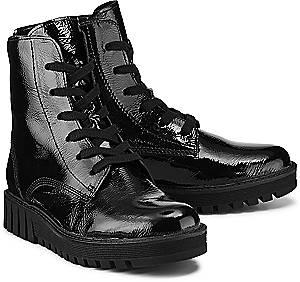 Gabor, Komfort-Schnürer in schwarz, Boots für Damen