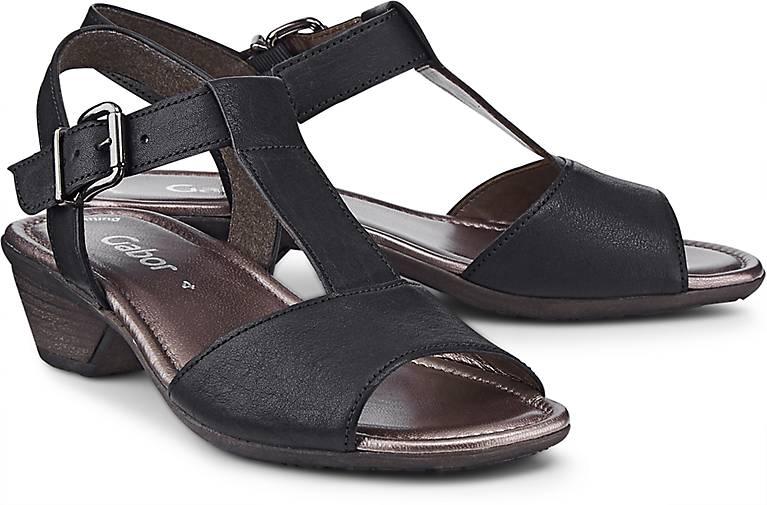 Gabor Leder-Sandalette