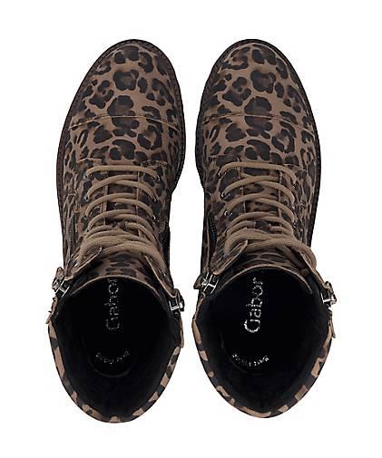 Gabor Keilstiefelette taupe | Schuhe