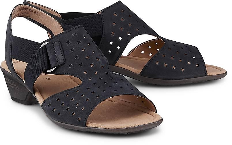 Gabor Nubuk-Sandalette